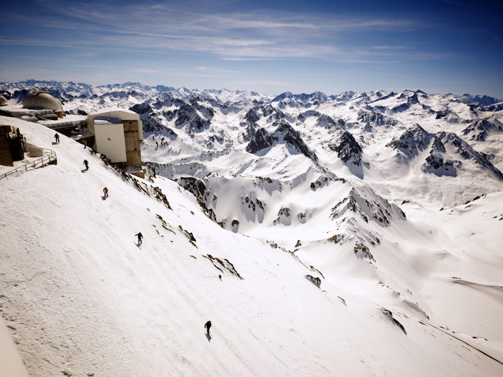 Pic du Midi in Pyranees