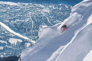 Stay in the city, ski the surroundings