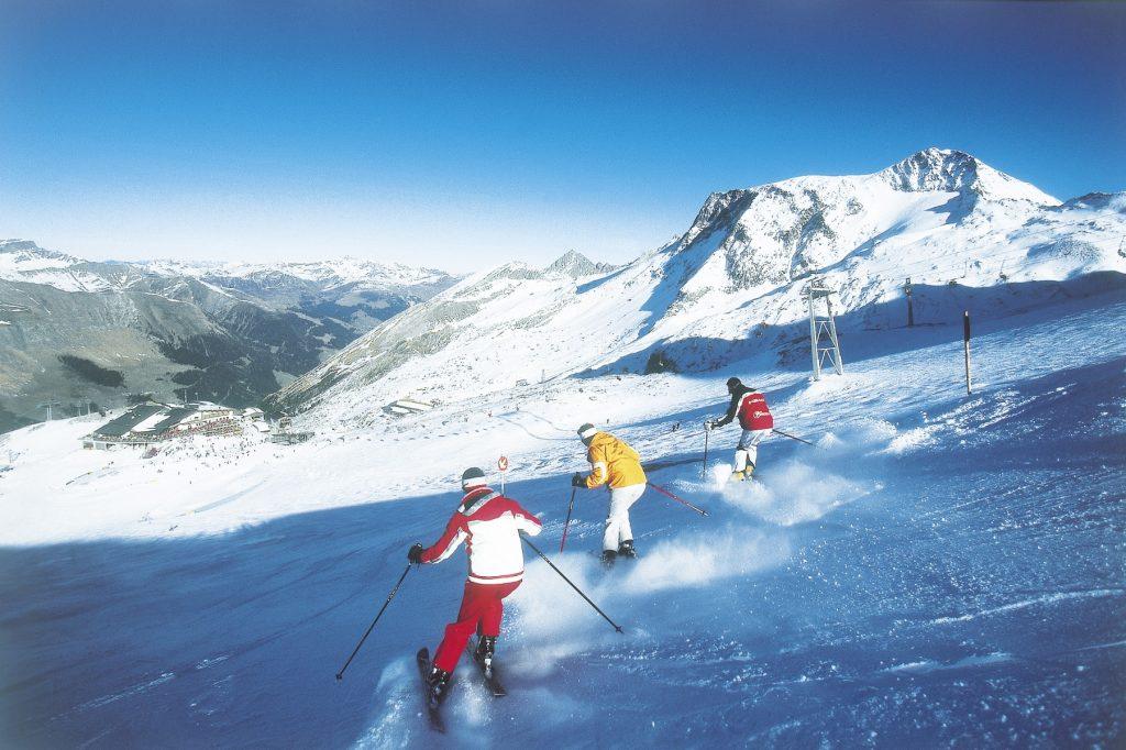 Where to ski in October and November: Austria's Hintertux
