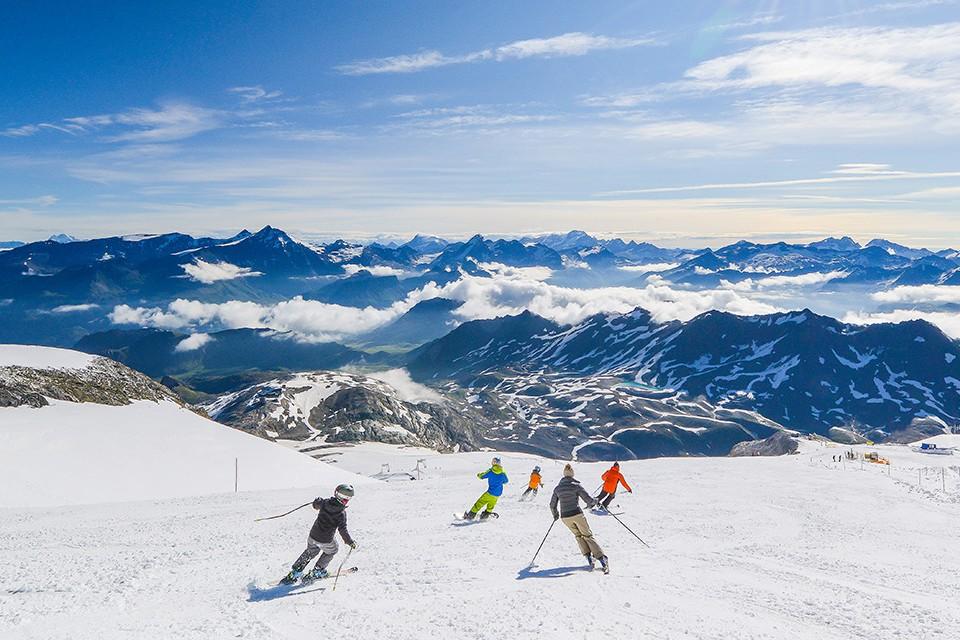 Where to ski in October and November: France's Tignes