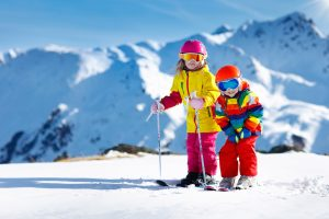 Guide to your first family ski holiday