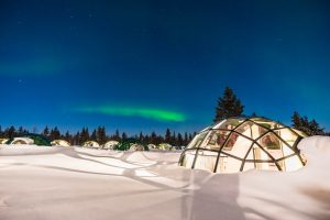 Sleeping on snow: Igloos, luxury pods and a very different snooze
